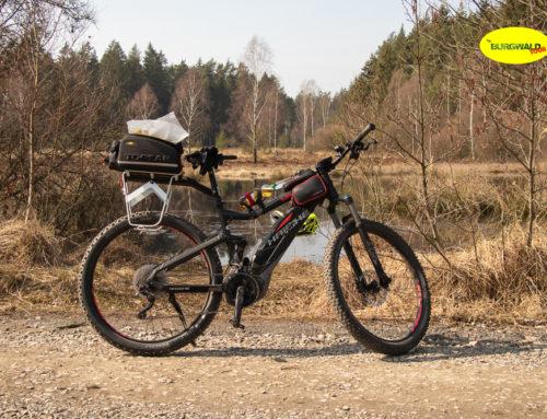 Erste Burgwaldtour 2019